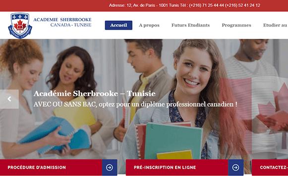 academie sherbrook tunisie